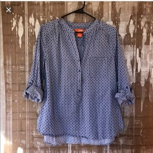 Casual Patterned Blouse